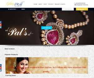 Website For Jewellery